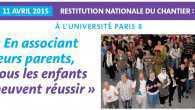 Le 11 avril a eu lieu une restitution nationale de la recherche action «En associant leurs parents, tous les enfants peuvent réussir» à laquelle plusieurs centres sociaux et la fédération […]